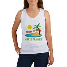 Retired Horse Trainer Women's Tank Top