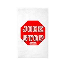 Jock Stop Sports Bar Area Rug