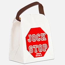 Jock Stop Sports Bar Canvas Lunch Bag