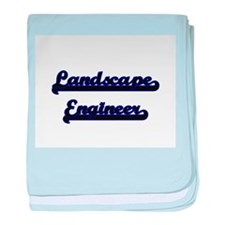 Landscape Engineer Classic Job Design baby blanket