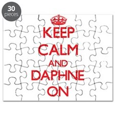 Keep Calm and Daphne ON Puzzle