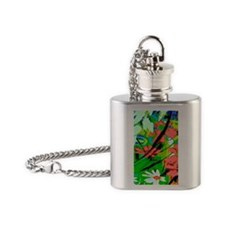 Garden Image Flask Necklace