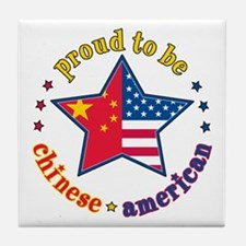 Tile Coaster/Proud to Be Chinese