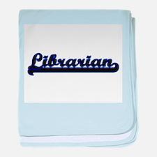 Librarian Classic Job Design baby blanket