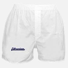 Librarian Classic Job Design Boxer Shorts