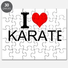 I Love Karate Puzzle