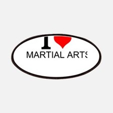 I Love Martial Arts Patch