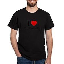 I Love Martial Arts T-Shirt