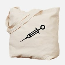 Injection syringe Tote Bag