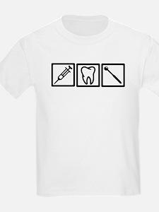 Dentist icons symbols T-Shirt