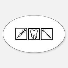 Dentist icons symbols Decal
