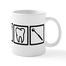 Dentist icons symbols Mug