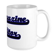 Magazine Editor Classic Job Design Mugs