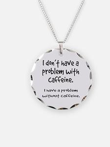 Caffeine addiction Necklace