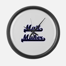 Mail Maker Classic Job Design Large Wall Clock