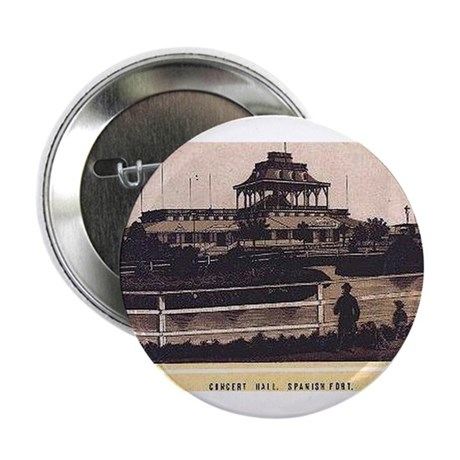 1880s ~ Spanish Fort Concert Hall Button