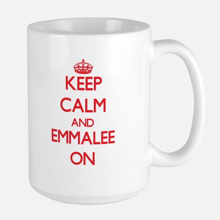 Keep Calm and Emmalee ON Mugs