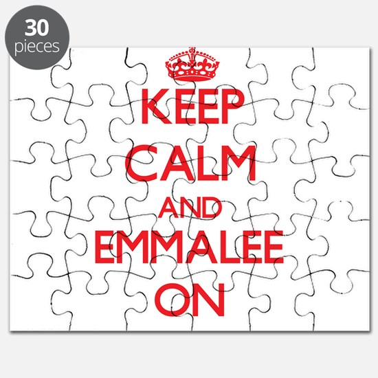Keep Calm and Emmalee ON Puzzle