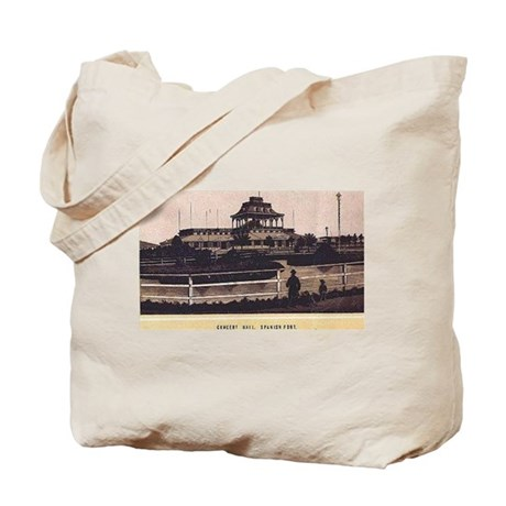 1880s ~ Spanish Fort Concert Hall Tote Bag