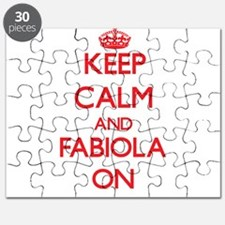 Keep Calm and Fabiola ON Puzzle