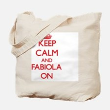 Keep Calm and Fabiola ON Tote Bag
