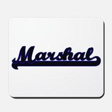 Marshal Classic Job Design Mousepad