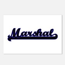 Marshal Classic Job Desig Postcards (Package of 8)