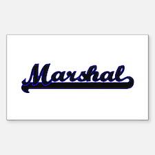 Marshal Classic Job Design Decal