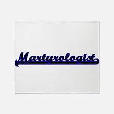 Martyrologist Classic Job Design Throw Blanket