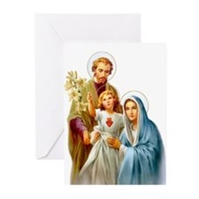 The Holy Family (Style 2 Greeting Cards (Pk of 20)
