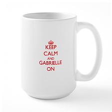 Keep Calm and Gabrielle ON Mugs