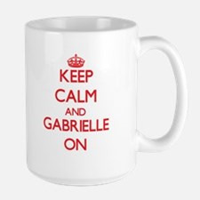 Keep Calm and Gabrielle ON Mugs