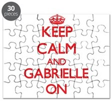 Keep Calm and Gabrielle ON Puzzle