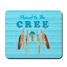 Proud to be Cree Mousepad