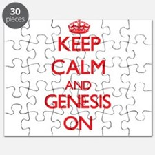 Keep Calm and Genesis ON Puzzle