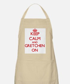 Keep Calm and Gretchen ON Apron