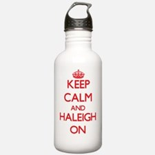 Keep Calm and Haleigh Water Bottle