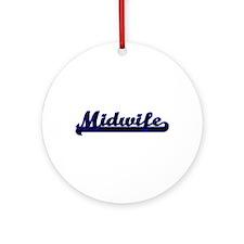 Midwife Classic Job Design Ornament (Round)