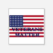 VETERANS MATTER Sticker
