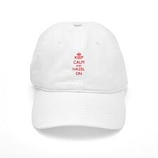 Keep Calm and Hazel ON Baseball Baseball Cap