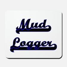 Mud Logger Classic Job Design Mousepad