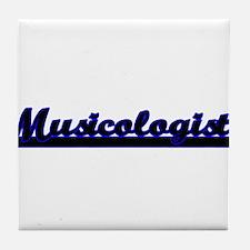 Musicologist Classic Job Design Tile Coaster