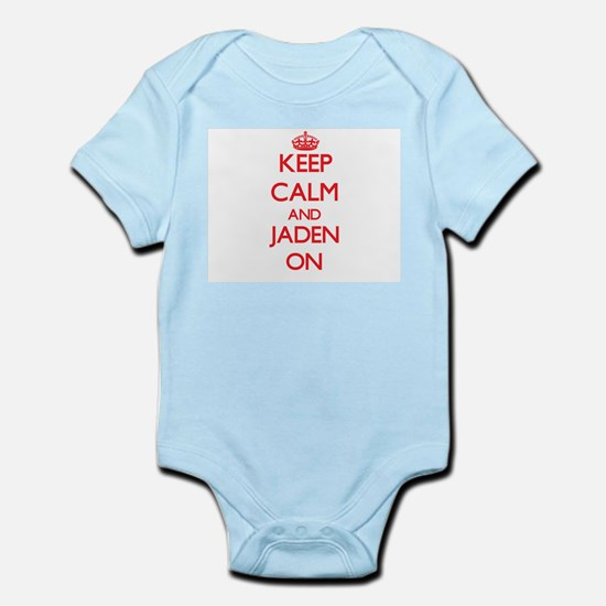 Keep Calm and Jaden ON Body Suit