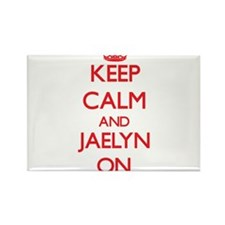 Keep Calm and Jaelyn ON Magnets
