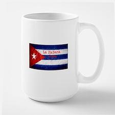La Habana Cuba Flag Mugs