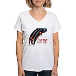 Got Treats Women's V-Neck T-Shirt
