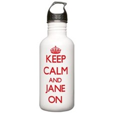 Keep Calm and Jane ON Water Bottle