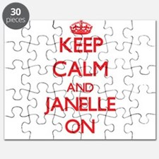 Keep Calm and Janelle ON Puzzle