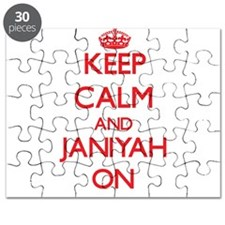 Keep Calm and Janiyah ON Puzzle
