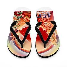 70's Vintage LEO Flip Flops